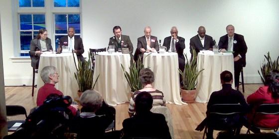 Sparkle Clark, Steve Benjamin, Aaron Johnson, Joe Azar, Gary Myers, Irwin Wilson and Steve Morrison