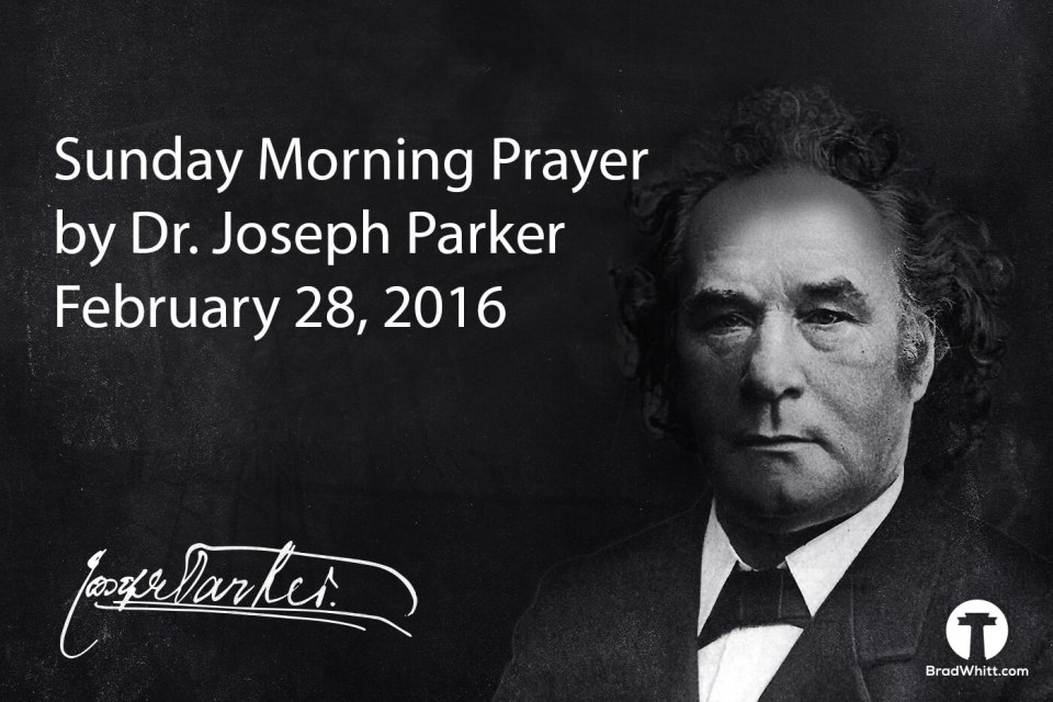 Sunday Morning Prayer - 2.28.16