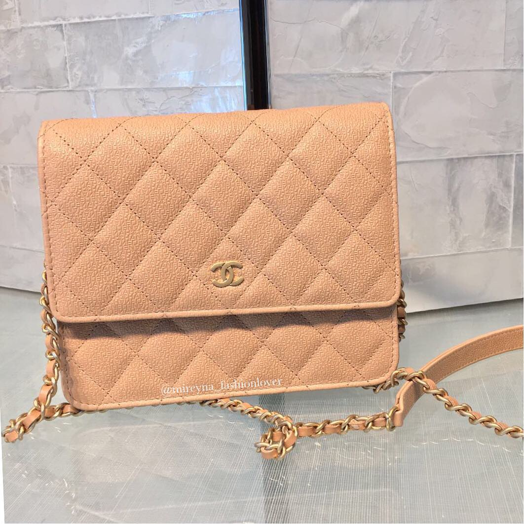 Mini Vs Woc Chanel Classic Square Woc Bragmybag