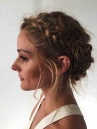 Messy Blonde Updo Hairstyles-500049929  Braid Hairstyles 2017