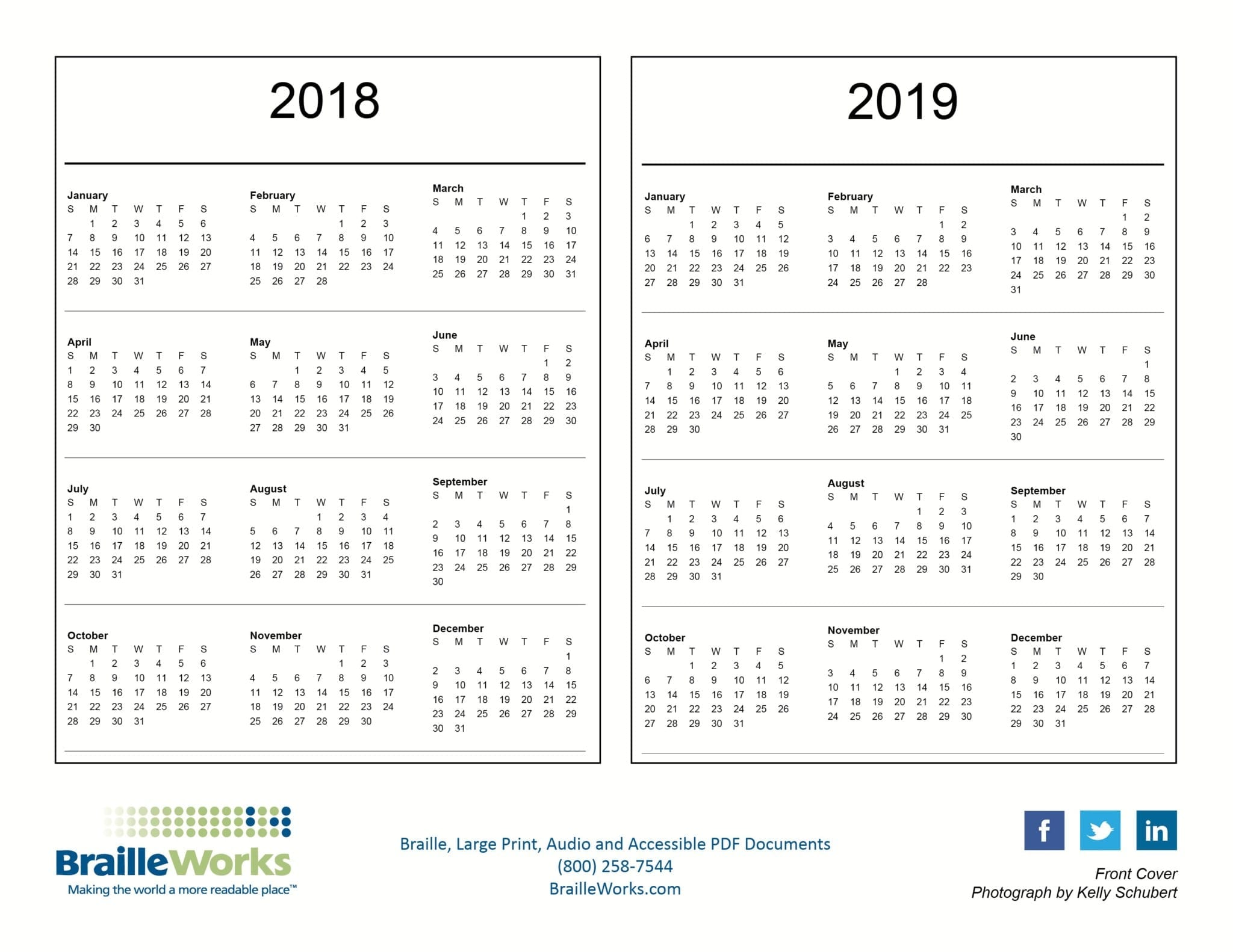 New York School Year Calendar In Florida Nyc 2017 18 School Year Calendar First Day Of School Braille Calendars Attractive And Accessible Braille Works