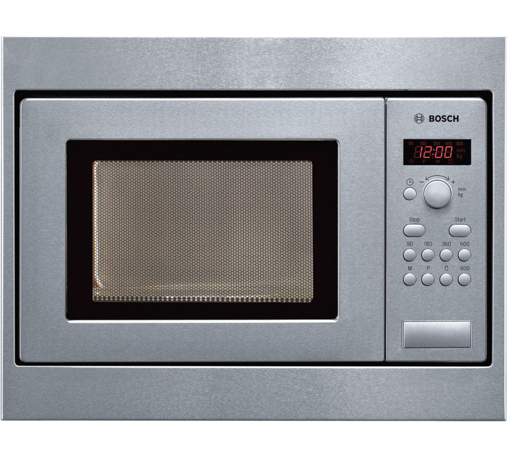 Bosch Microwave Bosch Hmt75m551b Built In Solo Microwave Stainless Steel