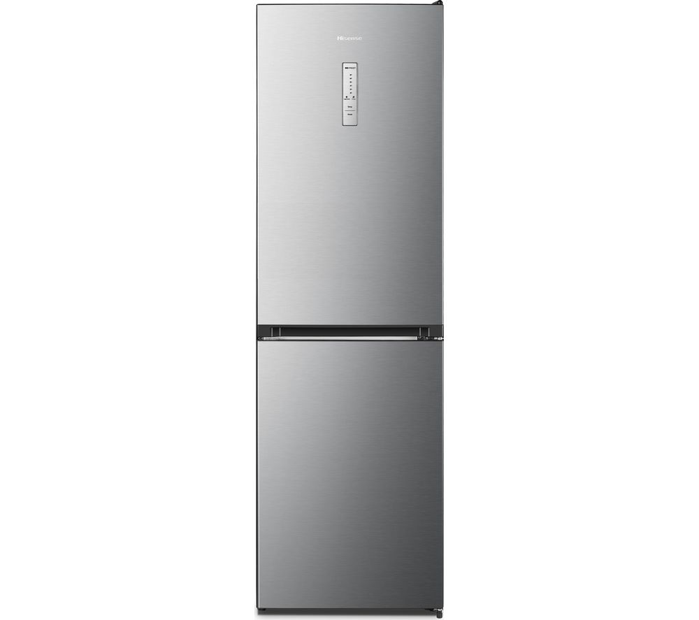 Fridge Freezer Hisense Rb412n4ai1 50 50 Fridge Freezer Stainless Steel Sfc01 Fridgecam White