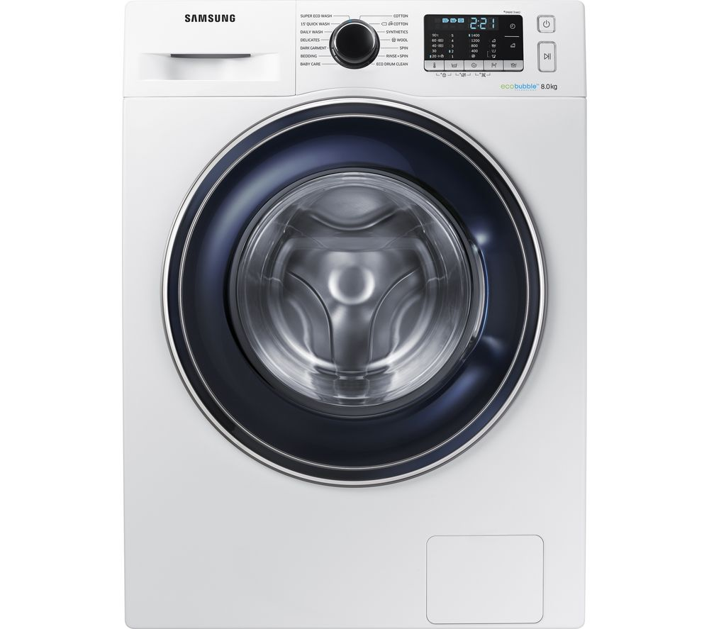 Eco Bubble Samsung Buy Samsung Ecobubble Ww80j5555fw 8 Kg 1400 Spin Washing