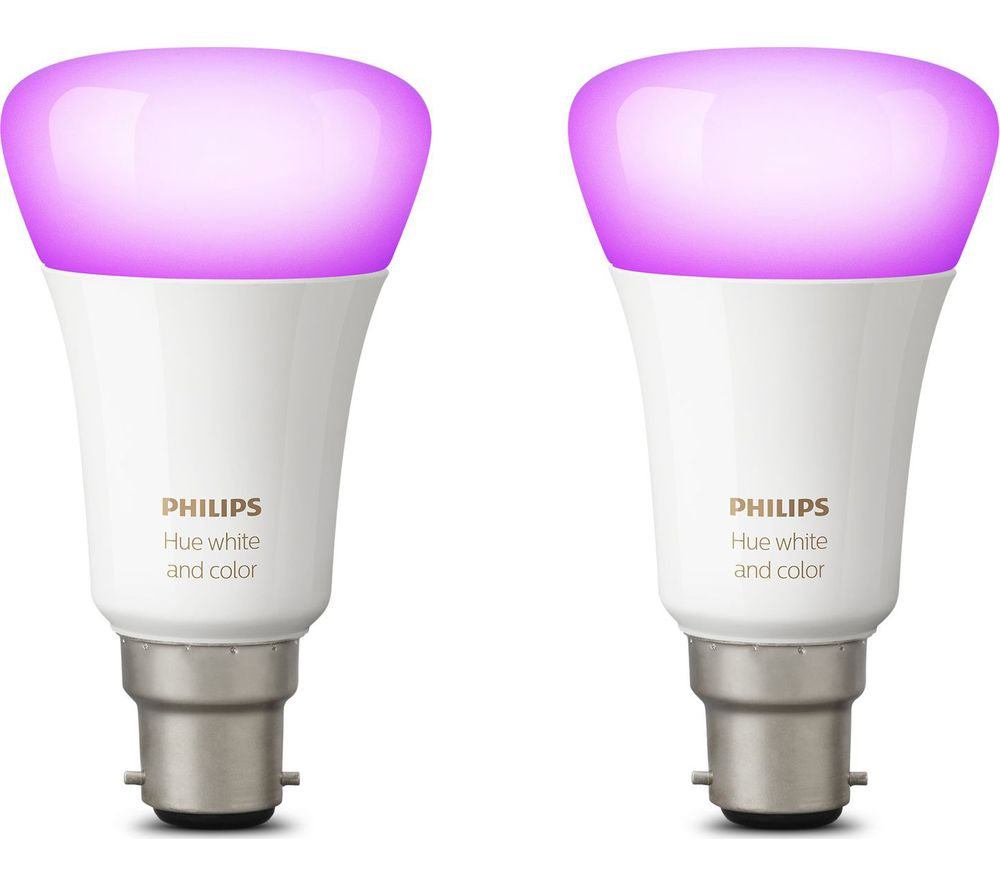 Hue Pack Buy Philips Hue White And Colour Ambiance Wireless Bulb B22