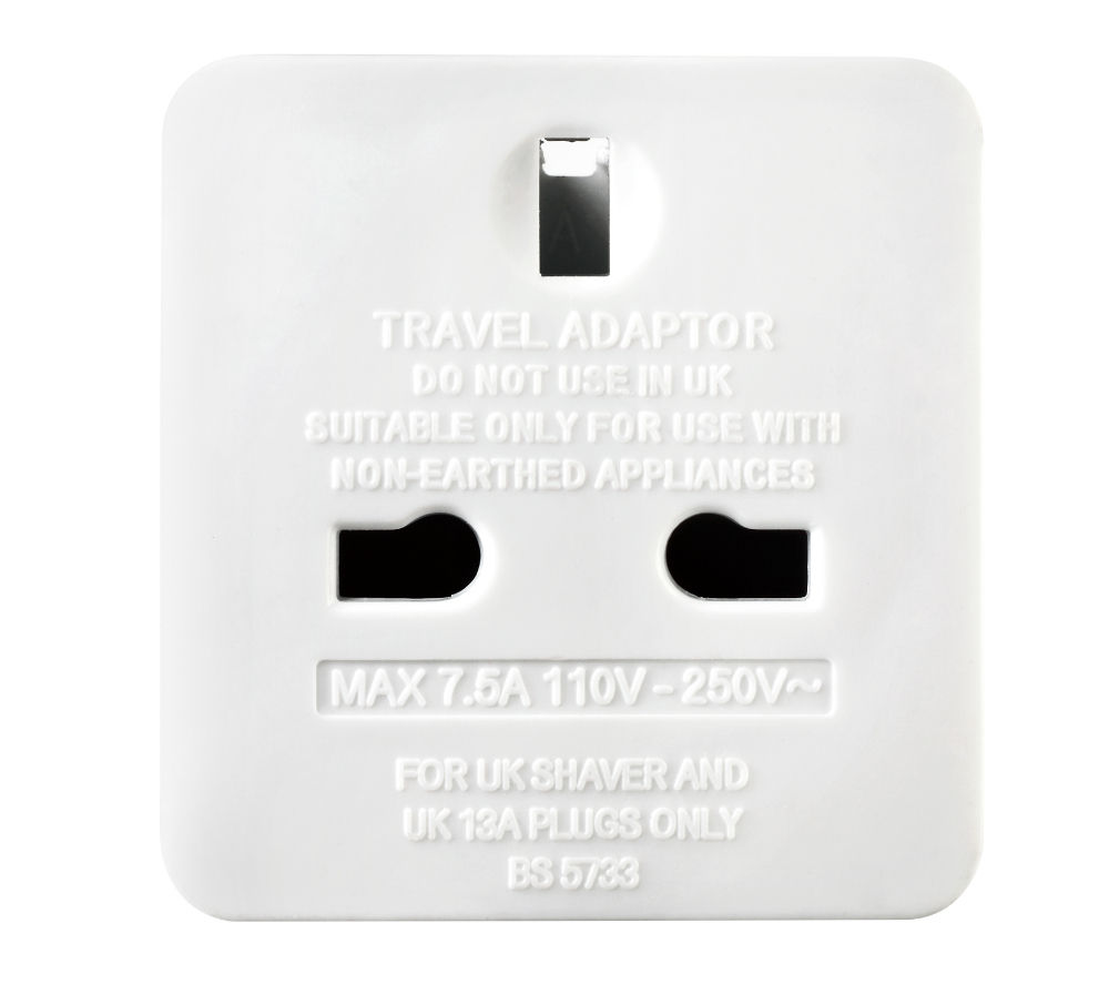 Travel Adapter Eu To Uk Buy Masterplug Taeur Mp Uk To Eu Travel Adapter Free