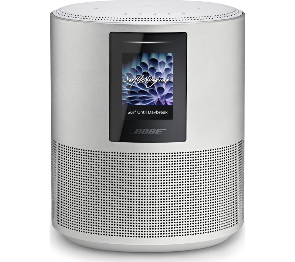Bose Home Cinema Buy Bose Home Speaker 500 With Amazon Alexa & Google Assistant - Silver | Free Delivery | Currys