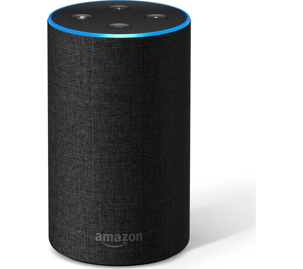 ???echo Amazon Echo Charcoal Fabric