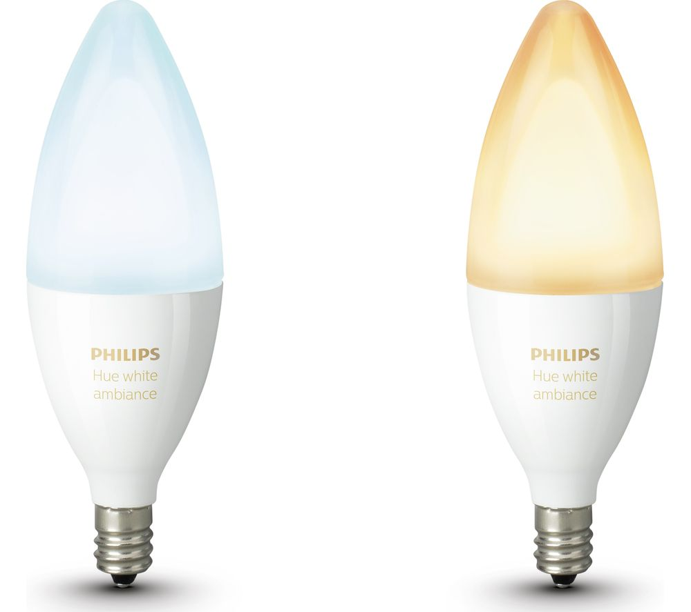 Philips Hue E14 Buy Philips Hue White Ambiance Wireless Bulb Twin Pack