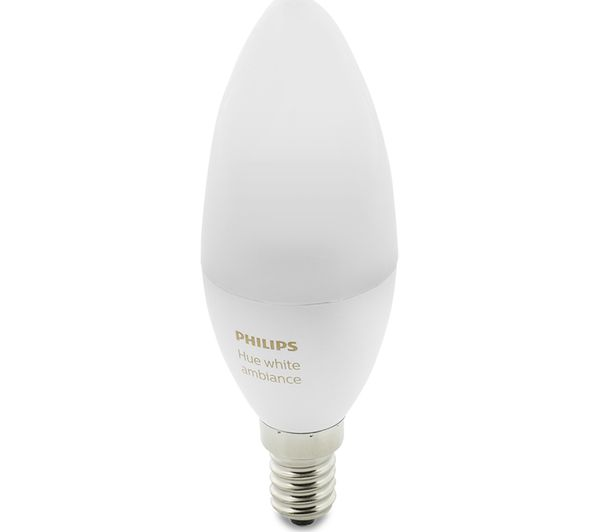 Philips Hue E14 Philips Hue White Ambience Smart Led Bulb - Candle E14