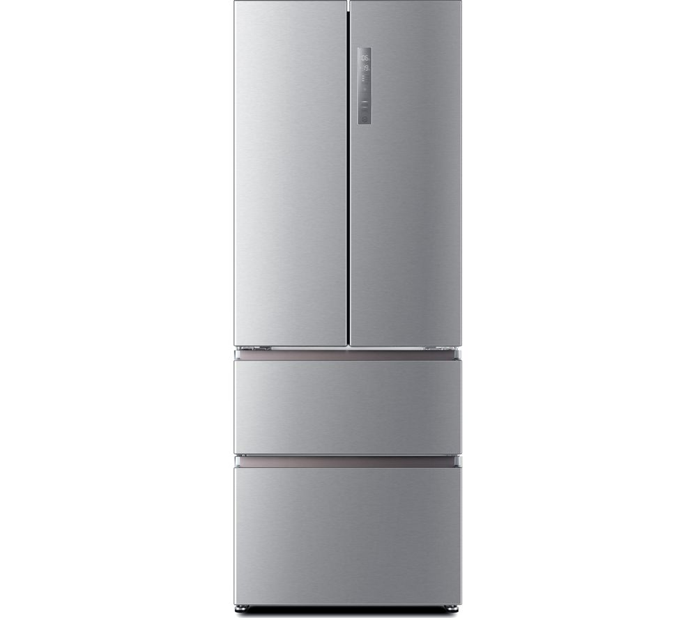 Fridge Freezer Haier Hb16fmaa 60 40 Fridge Freezer Stainless Steel Sfc01 Fridgecam White