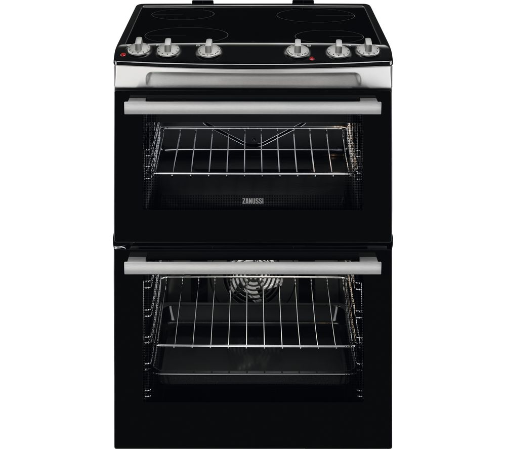 60 Cm Buy Zanussi Zcv66060xe 60 Cm Electric Ceramic Cooker Stainless