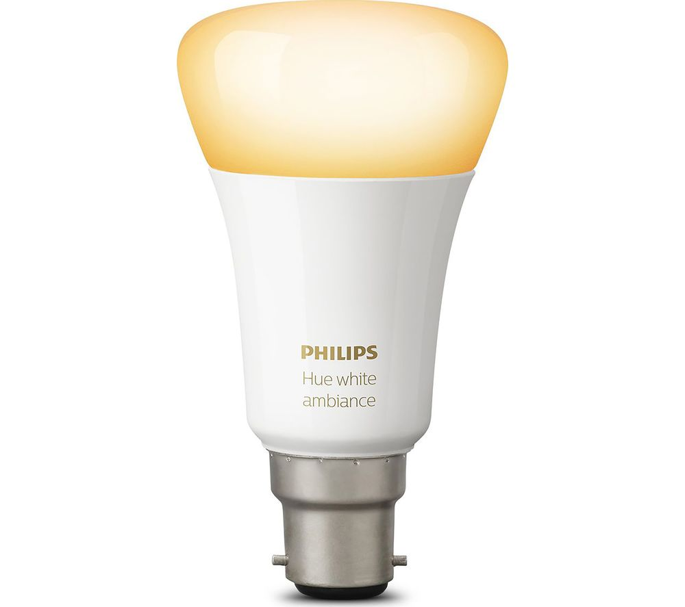 Hue Fitting Philips Hue Ambience Wireless Bulb B22 Hue White Colour Ambience Wireless Bulb B22