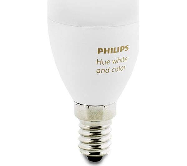 Philips Hue E14 Philips Hue White & Colour Ambience Smart Led Bulb