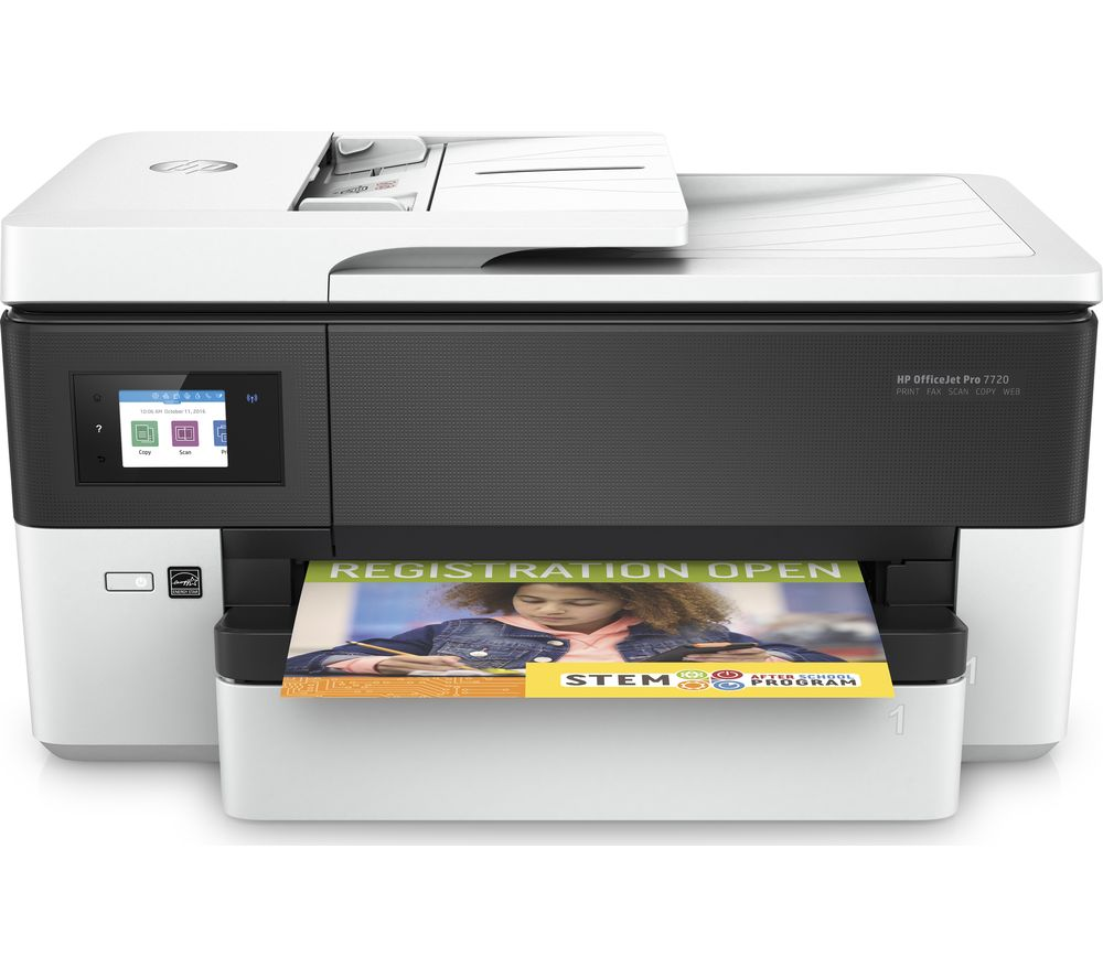A3 Photo Printing Buy Hp Officejet Pro 7720 All In One Wireless A3 Inkjet Printer