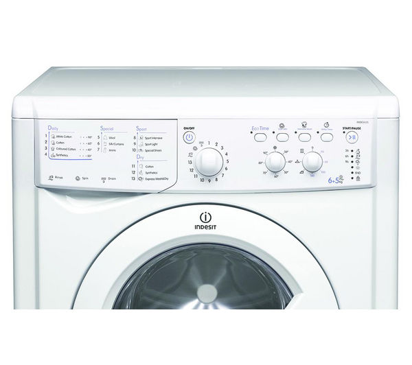 Indesit Iwdc 6125 Buy Indesit Iwdc 6125 Washer Dryer - White | Free Delivery