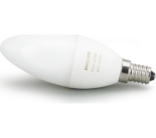 Philips Hue E14 Buy Philips Hue White & Colour Ambience Wireless Bulb
