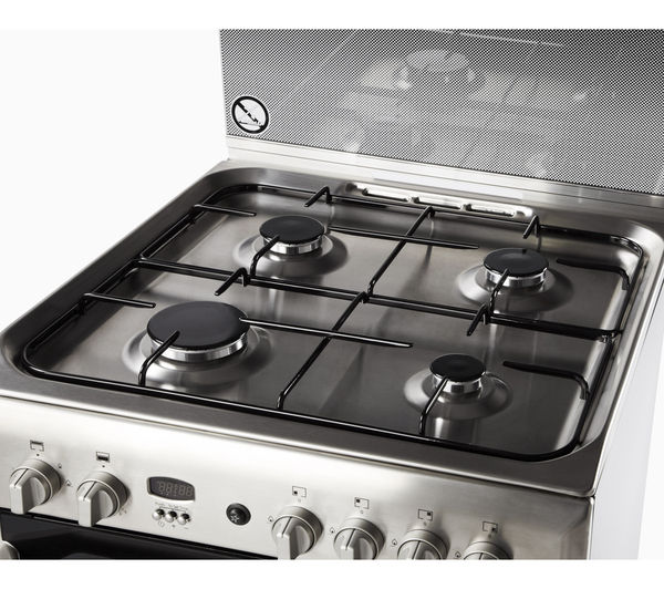 Cucina A Gas 60 X 60 Buy Indesit Id60g2x 60 Cm Gas Cooker - Stainless Steel