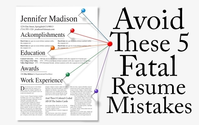 fatal resume mistakes