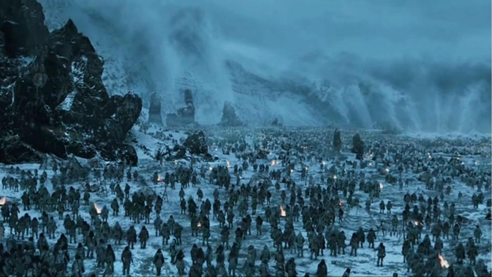 Skyrim Fall Wallpaper Hd Game Of Thrones Saison 8 Les Marcheurs Blancs Sur Le