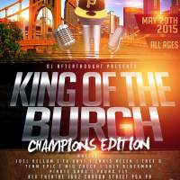 Poll: Who Will Win King Of The Burgh Champions?