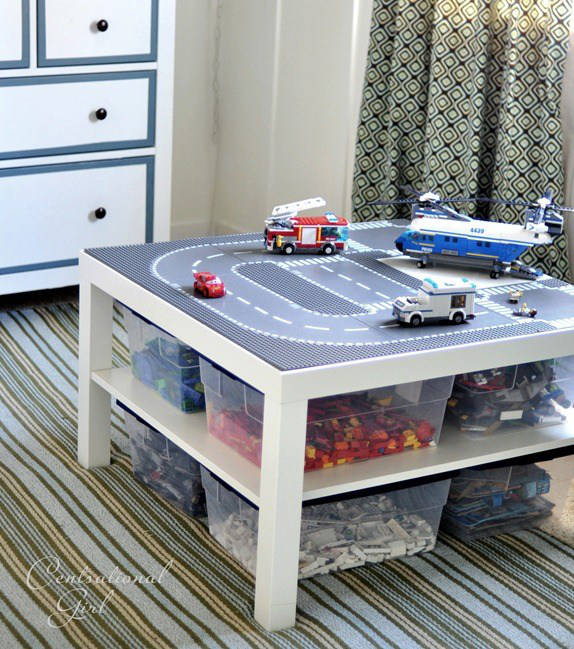 Lack Couchtisch Ikea Diy Lego Table - Incredible Ikea Hacks!