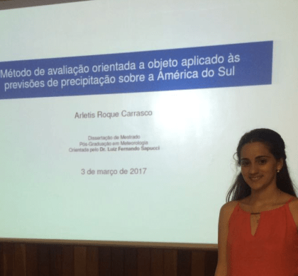 Master dissertation focused on Method of Object-based evaluation applied in BRAMS precipitation forecasts