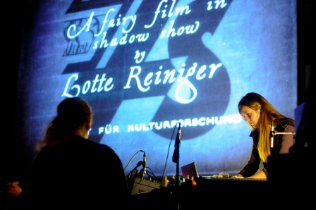 Icelandic group amiina perform Animagica: a live soundtrack to the magical animations of Lotte Reiniger, Shoreditch Church, December 2009
