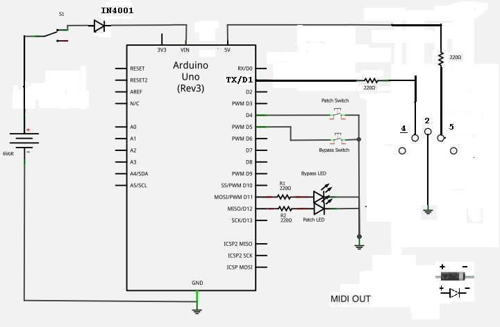 complete circuit stomp switch wiring
