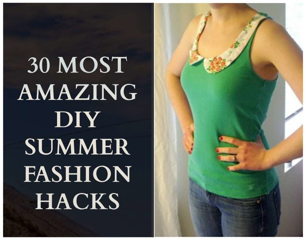 Diy Clothes For Summer 30 Easy Diy Summer Fashion Ideas With Step By Step Tutorials