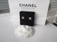 [SOLD] FOR SALE: BNIB DOUBLE C CLASSIC CHANEL EARRINGS ...