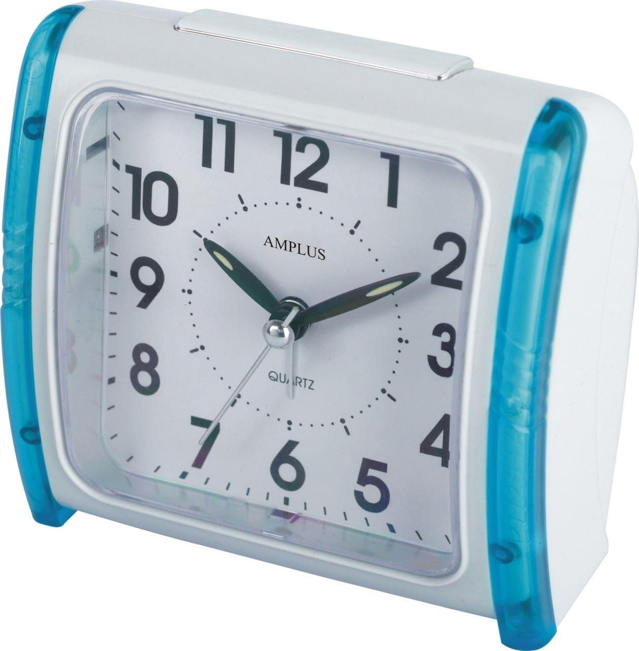 Bedside Table Clocks Amplus Bedside Table Travel Alarm Clock With Blue Light