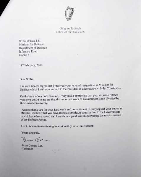 Resignation Letter Response – Response to Resignation Letter