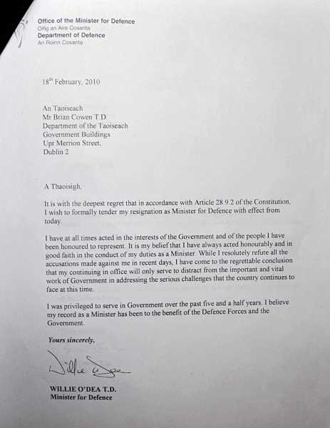 Letter Of Resignation Ireland Choice Image - Letter Format Formal Sample