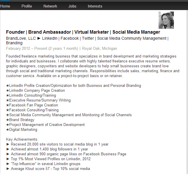 How To Jazz Up Your LinkedIn Profile With Bullets And Symbols