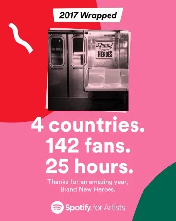 Spotify Wrapped 2017
