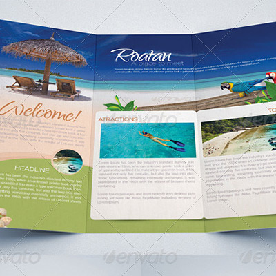 7 Great Travel Brochure Examples and Design Samples - BrandonGaille - sample broucher