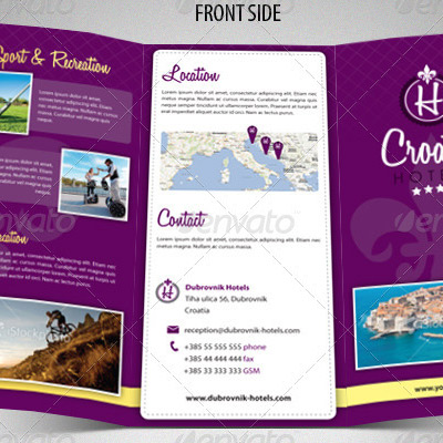 7 Great Travel Brochure Examples and Design Samples - BrandonGaille