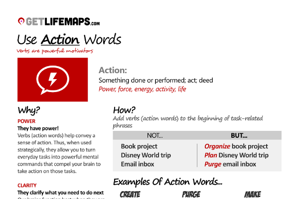 List of 21 Great Call-to-Action Verbs - BrandonGaille - List Of Action Verbs