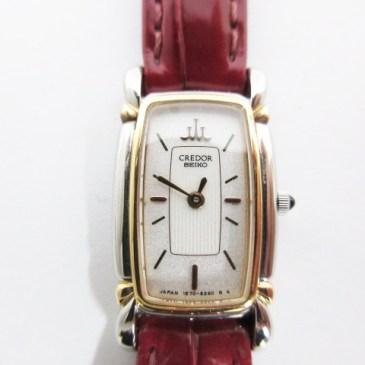 クレドール 腕時計 買取!