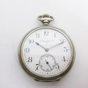 エルジン 懐中時計 買取!