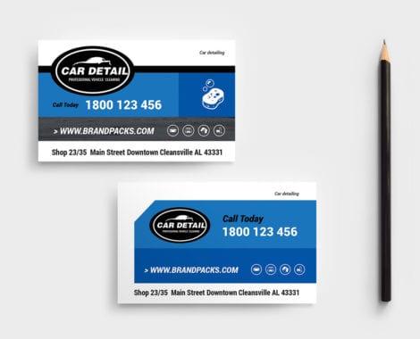 Car Detailing DL Card Template - PSD, Ai  Vector - BrandPacks
