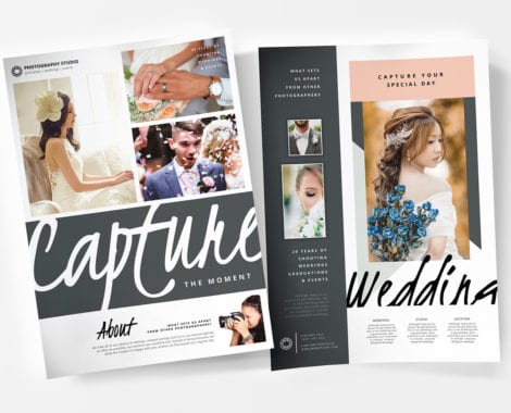 Wedding Photographer Templates Pack Vol3 - BrandPacks