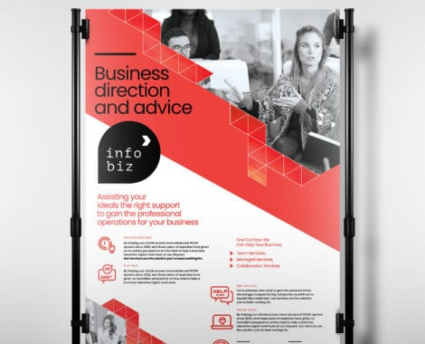 A4 Business Poster Templates - PSD, Ai  Vector - BrandPacks