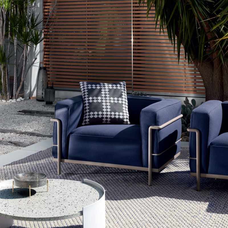 Cassina Lc3 Outdoor Sessel