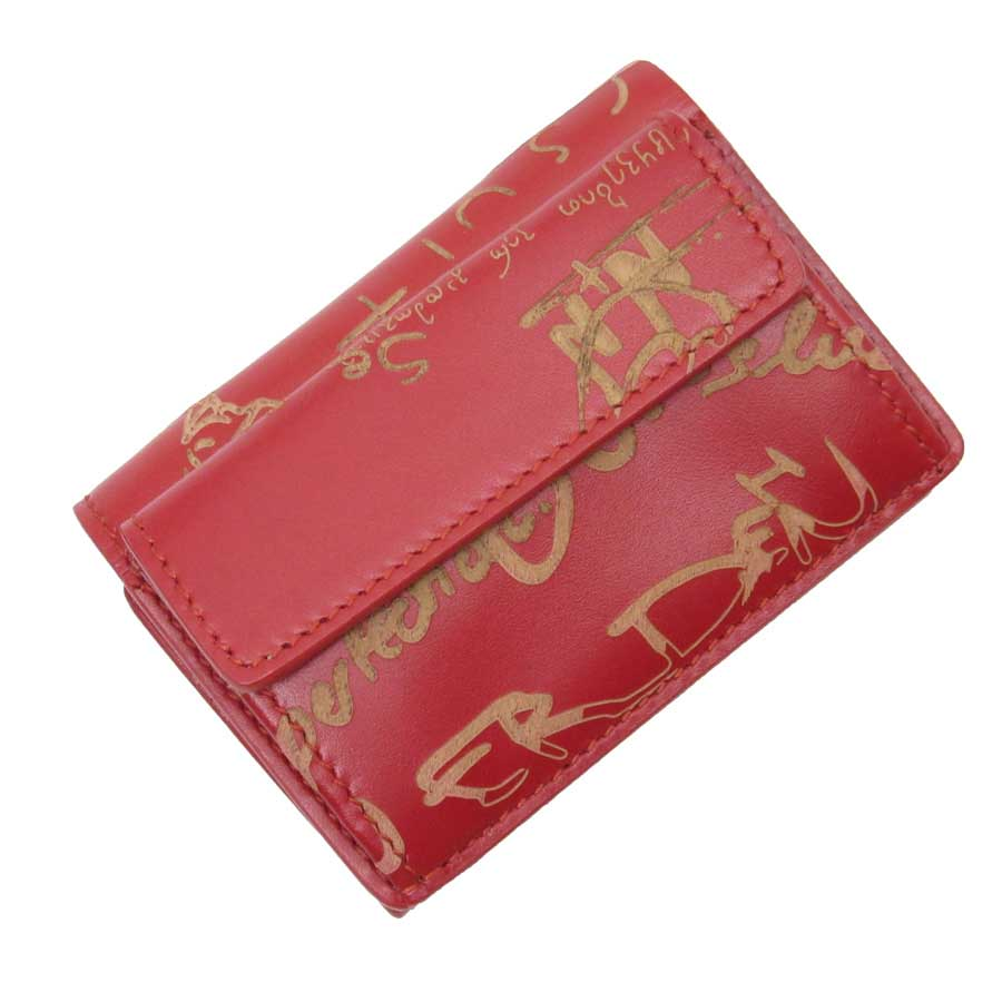Ebay Essen Details About Auth Balenciaga Essen Mini Wallet Trifold Wallet Red Leather 410133 H19116