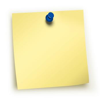Las notas post-it: clave para la memoria | BrandWidget Blog
