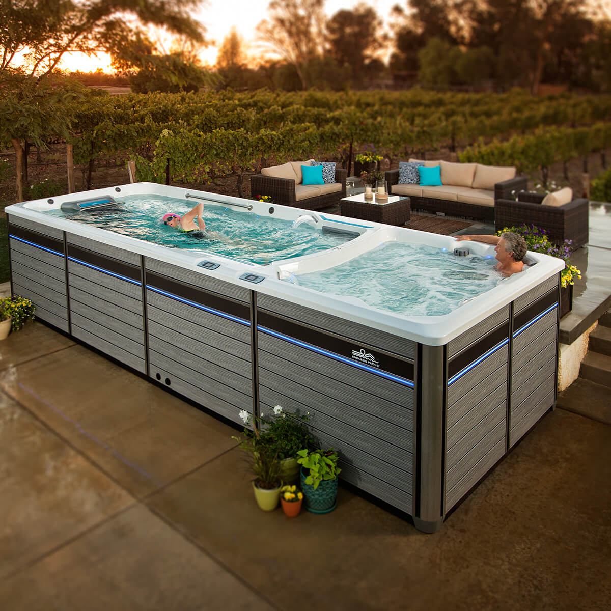 Jacuzzi Endless Pool E2000 Endless Pools Fitness Systems Branson Hot Tubs