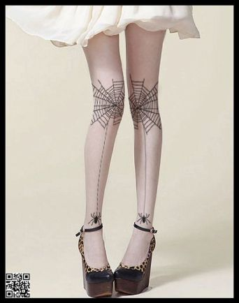 2. GravityUS Spiderweb tights