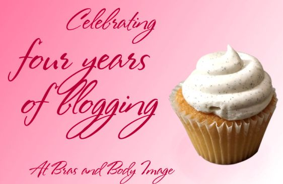 Image: Celebrating four years of blogging at Bras and Body Image